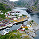 A Small Fishing Village in Lofoten - VideoHive Item for Sale