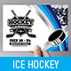 Ice Hockey Flyer Template - GraphicRiver Item for Sale
