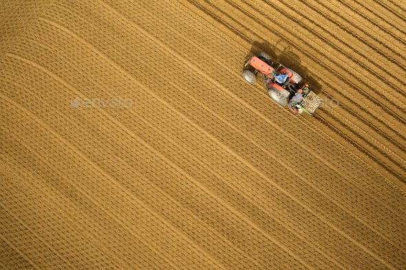 Plow the earth - Stock Photo - Images