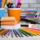 Assortment of School and Office Stationery - VideoHive Item for Sale