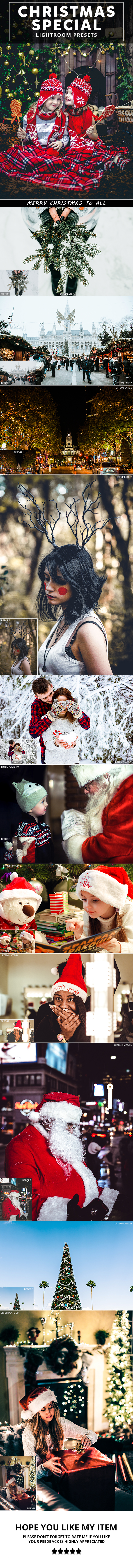 22 Christmas Special Lightroom Presets - Lightroom Presets Add-ons