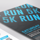 5K Running Event Flyer - GraphicRiver Item for Sale
