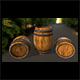 Wood_Barrel