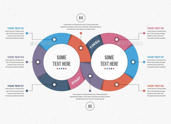 Modern Infinity Infographics - Infographics