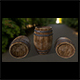 Wood_Barrel 1