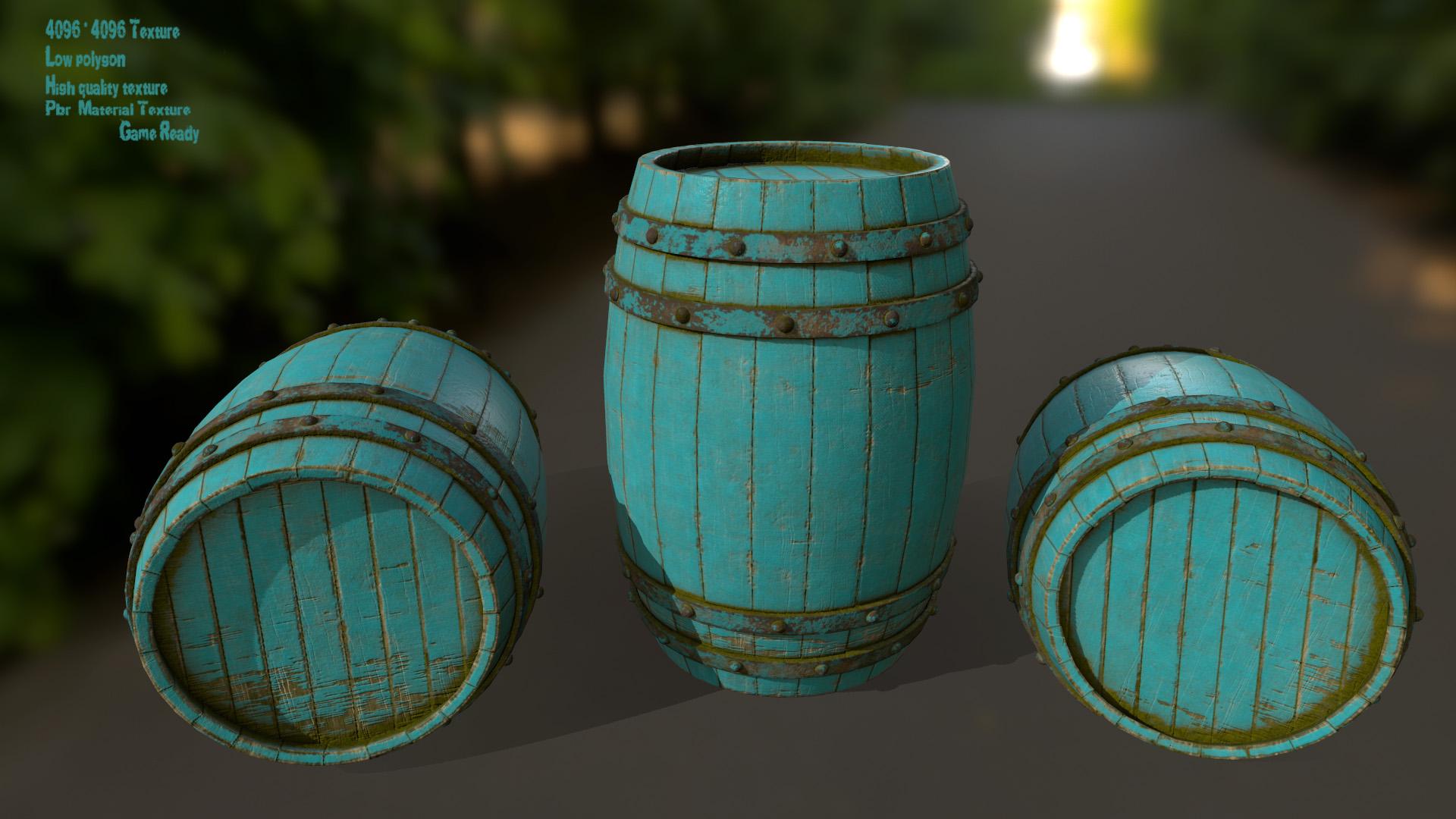 Wood_Barrel 4