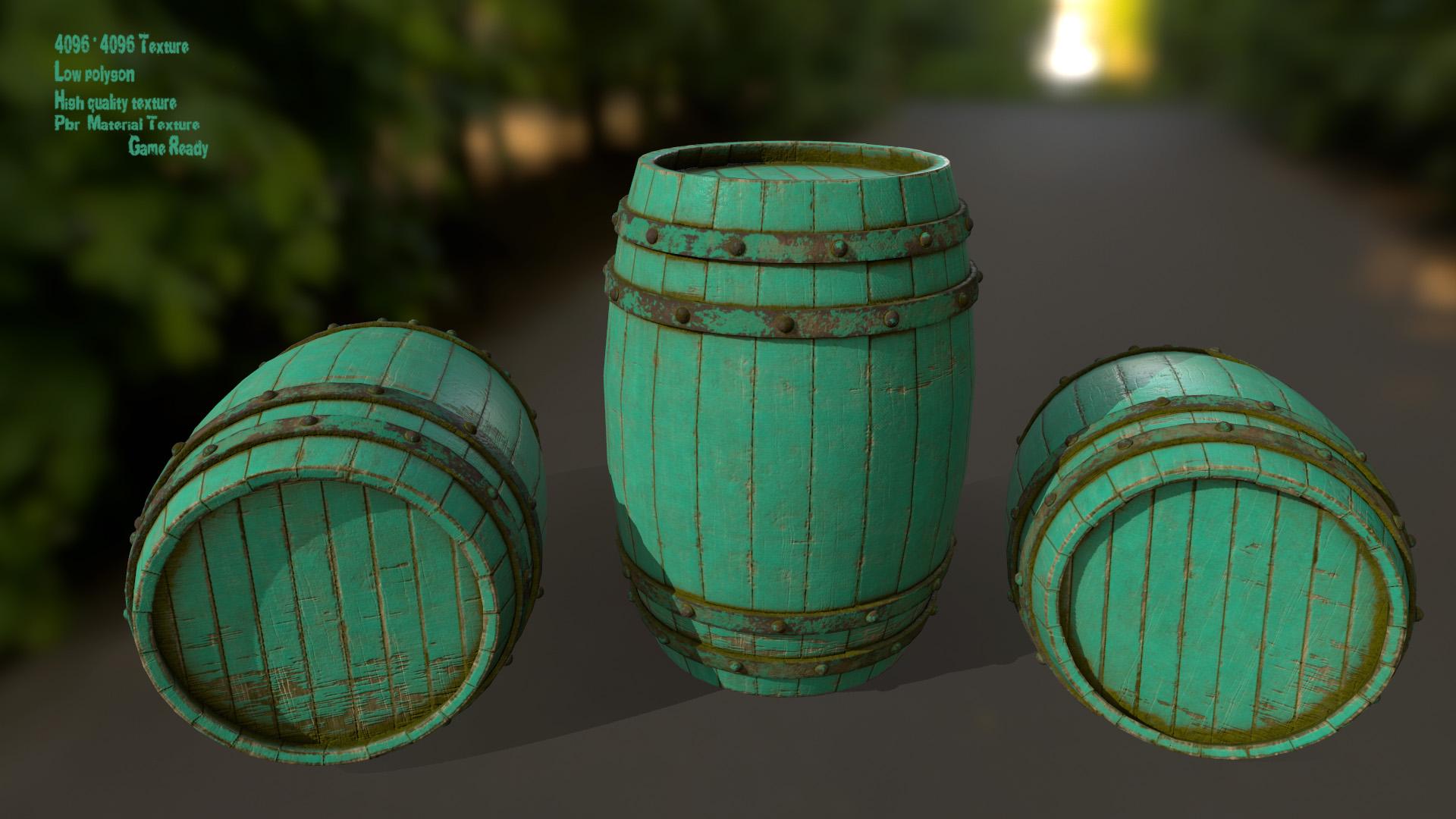 Wood_Barrel 5