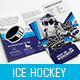 Ice Hockey Tri-Fold Brochure Template - GraphicRiver Item for Sale