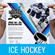 Ice Hockey A3 Poster Template - GraphicRiver Item for Sale