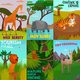 Wild Animals Cards Set