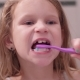 Little Girl Oral Care with Toothbrush - VideoHive Item for Sale