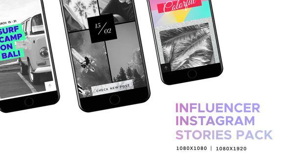 Influencer / Instagram Stories Pack