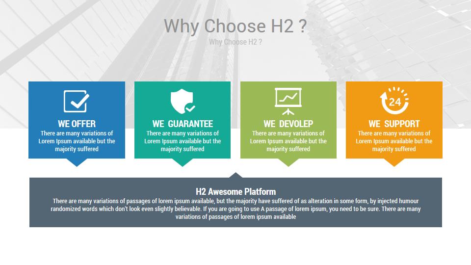 h2 premium source of powerpoint slides by rojdark graphicriver