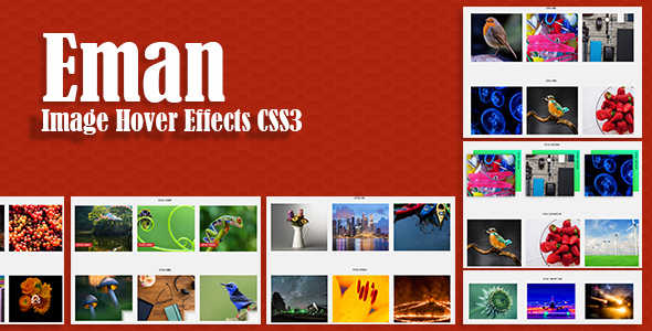 Eman - Awesome CSS3 Image Hover Effects - CodeCanyon Item for Sale