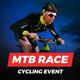 MTB Race - Mountain Bike Racing / Marathon / Cycling Event Website Muse Template - ThemeForest Item for Sale