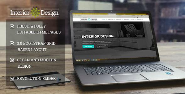 Studio Ux | Interior Design Website Mulitpurpose HTML5 Template