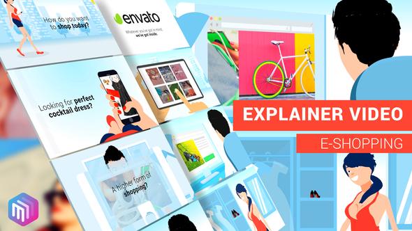 Explainer Video | E-Commerce, APP, Online Services Version - 21863719