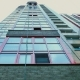 Glass on a High-rise Building, Two Men Wash the Windows on a High-rise Building - VideoHive Item for Sale