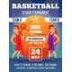 Poster Invitation at Basketball Championship