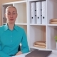 Business Female Telling About Her Job - VideoHive Item for Sale