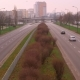 Morning Traffic on the Road in a Sleeping District in the City of Warsaw. - VideoHive Item for Sale