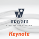 Mayam Creative Keynote Templates - GraphicRiver Item for Sale