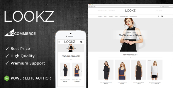 Lookz - Multipurpose Stencil BigCommerce Theme - BigCommerce eCommerce