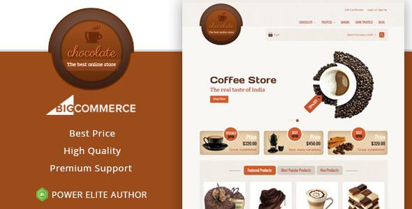Chocolate - Multipurpose Stencil BigCommerce Theme - BigCommerce eCommerce