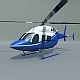 Bell 429 civil helicopter