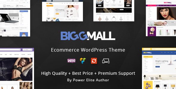 BiggMall – Multipurpose WooCommerce Theme