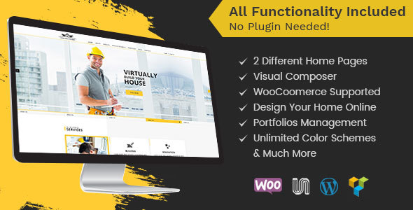 Construction - Construction WordPress Theme for Architect and Construction - Business Corporate