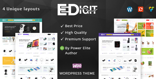 eDigit - Multipurpose WooCommerce Theme