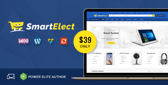 SmartElect - Multipurpose WooCommerce Theme