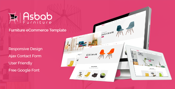 Image of Asbab – Furniture eCommerce HTML5 Template