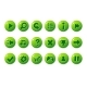 Glossy Green Buttons for All Kinds of Casual - GraphicRiver Item for Sale