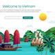Vietnam Vector Illustration