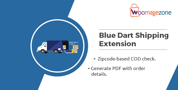 Blue Dart Shipping Magento 2.0 extension - CodeCanyon Item for Sale