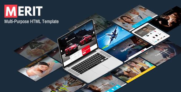 Merit - Premium Multi-Purpose HTML5 Template