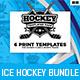 Ice Hockey Templates Bundle - GraphicRiver Item for Sale