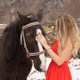 Emotion with Horse and Woman - VideoHive Item for Sale