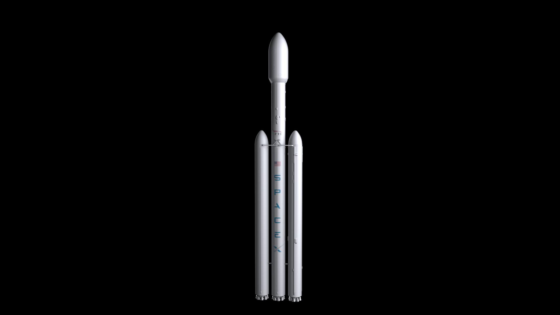 Falcon Heavy V1.2 Non Reusable