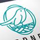 Bird Nest Logo Template