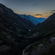 Million Dollar Highway Colorado Birds eye view after Sunset - PhotoDune Item for Sale