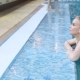 Beautiful Blonde Girl in the Pool - VideoHive Item for Sale