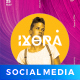 Ixora DJ Social Media Template