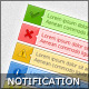Ok, Error, Warning, Info & Tip Notification Boxes - GraphicRiver Item for Sale