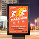 Marathon Event Poster Template