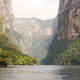 Tour Boats In Sumidero Canyon Chiapas - PhotoDune Item for Sale