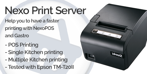 Nexo Print Server            Nulled