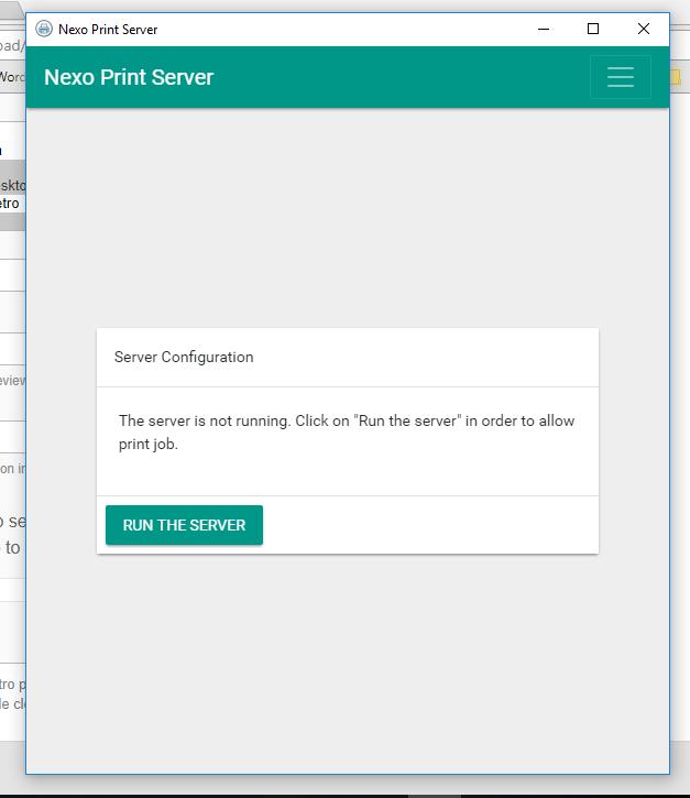 Nexo Print Server
